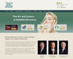 Center for Plastic Surgery home page