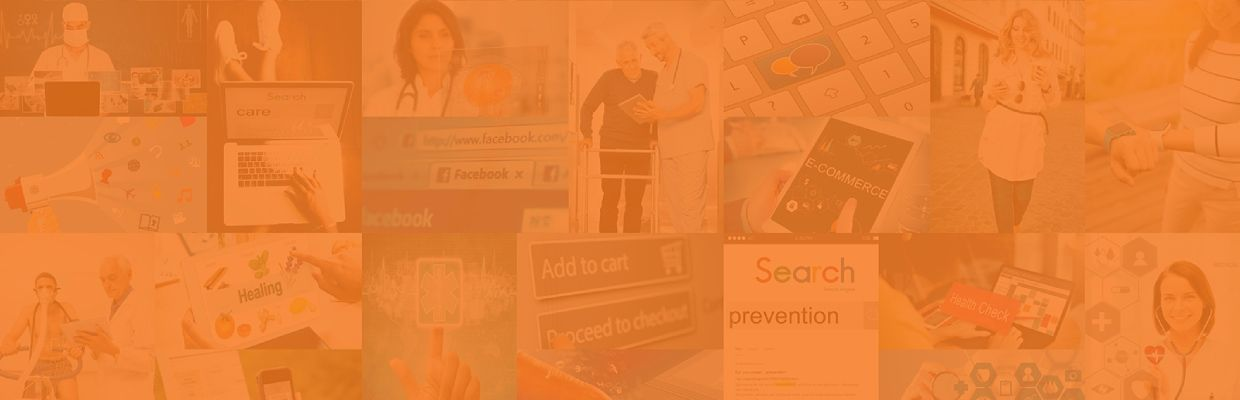 Orange background-health services