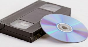 VCR tapes and CD
