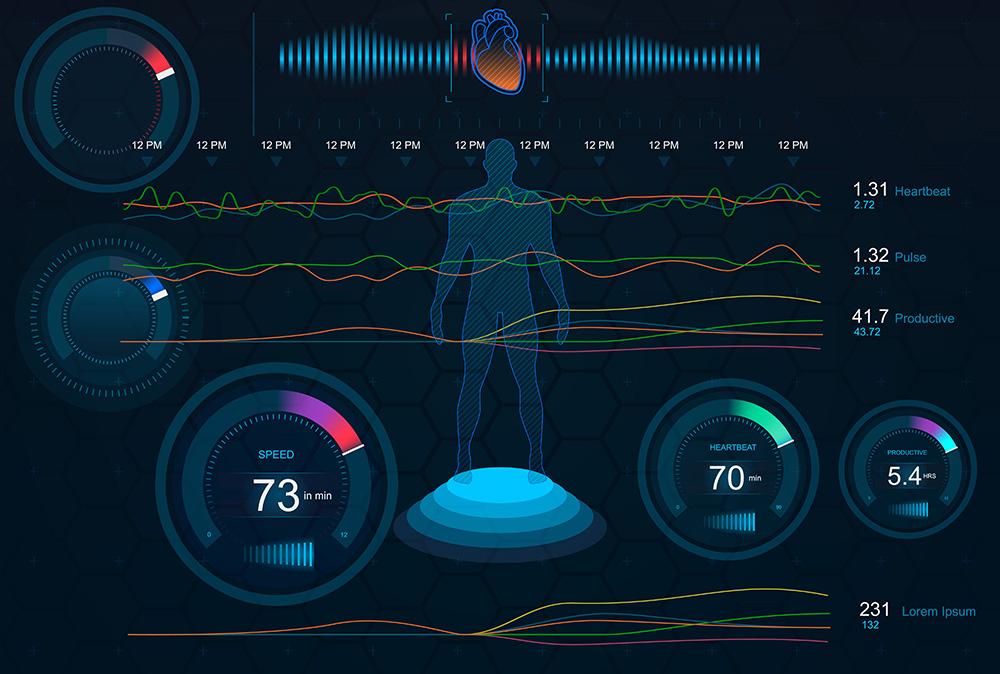 Biometrix scans of someone