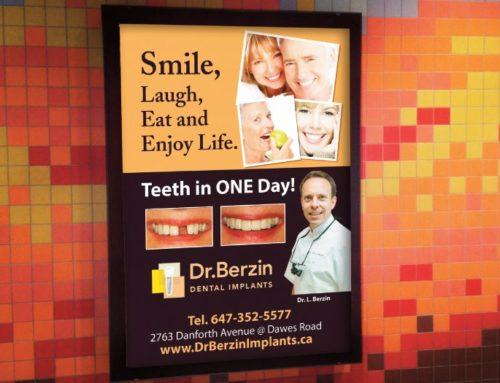 Dr. Berzin Providing Dental Implants